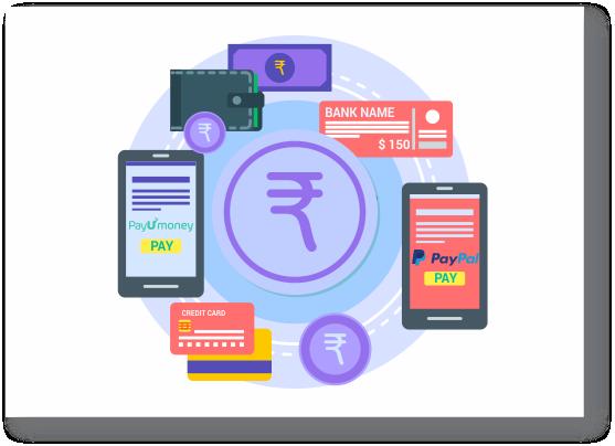 Accept online & offline payment